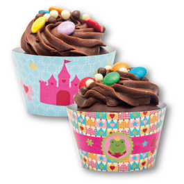 Wrapper para Cupcake Coleção TagLab Especiais