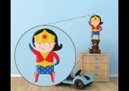 Coleção Super-Heróis (Personagens) - Mulher Maravilha