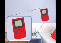 Adesivo de Parede - Game Boy Color