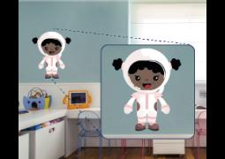 Adesivo de Parede - Astronauta Mae J