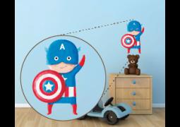 Coleção Super-Heróis (Personagens) - Capitão América