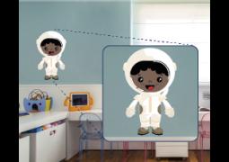 Adesivo de Parede - Astronauta Guion