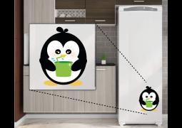 Adesivo de Parede - Pinguim Suquinho