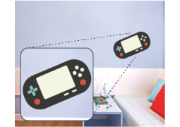 Adesivo de Parede - PS Vita