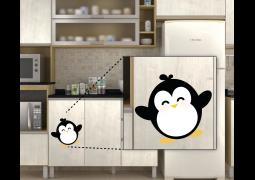 Adesivo de Parede - Pinguim Feliz