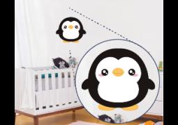 Adesivo de Parede - Pinguim Fofo