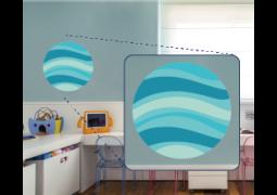 Adesivo de Parede - Planeta Azul
