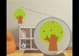 Adesivo de Parede - Árvore da Fazenda