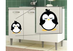 Adesivo de Parede - Pinguim Dengoso