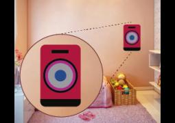 Coleção Rock & Girls - Caixa de som  vermelha