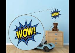 Coleção Super-Heróis (Onomatopéias) - WOW!