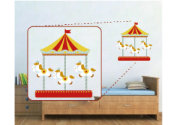 Adesivo de Parede - Carrocel de Circo
