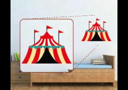 Adesivo de Parede - Tenda de Circo