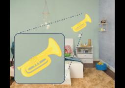Coleção Instrumentos Musicais - Trompete02