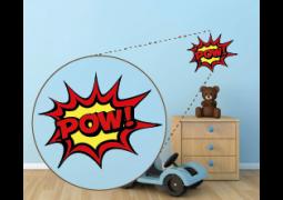 Coleção Super-Heróis (Onomatopéias) - POW!