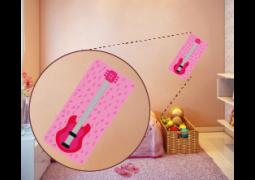 Coleção Rock & Girls - Guitarra Rosa