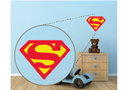 Coleção Super-Heróis  - Emblema Superman