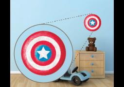 Coleção Super-Heróis - Emblema Capitão América