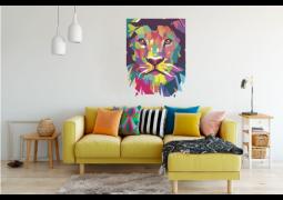 Leão Colorido