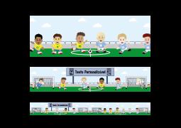 Faixa para Parede Futebol