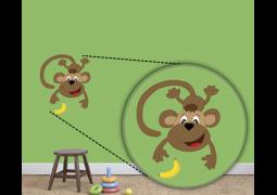 Adesivo de Parede - Macaco
