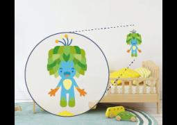 Adesivo de Parede - Mascote Olimpíadas Tom
