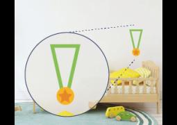 Adesivo de Parede - Medalha Olímpica