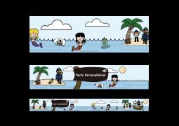 Faixa para Parede Pirata