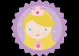 Faixa para Parede Princesa 02
