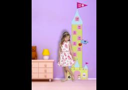 Régua de Crescimento - Princesas