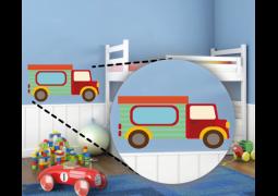 Adesivo de Parede - Caminhão Pequeno
