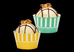 Wrapper para Cupcake Coleção Arco-Íris Vertical