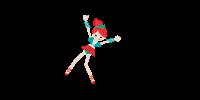 Bailarina trapezista